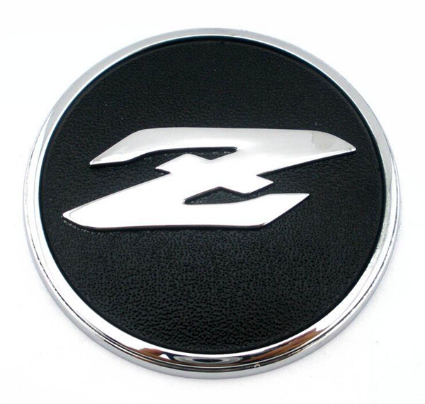 2pcs Metal Stickers For Anese Nissan Z Sports Side Labeling Auto Logo Modification Emblem 350z Funny Car Styling