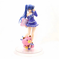 Anime Hyperdimension Neptunia Black Heart Noire Pajamas Dakimakura Ver. PVC Action Figures collectible Model toys for gift