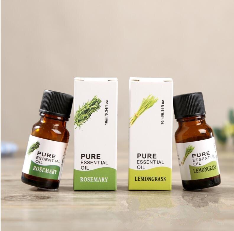 100% натуральный ароматерапия массаж чистый Эфирные масла 6 видов розмарин, герань, эвкалипт, иланг, цитронелла YC
