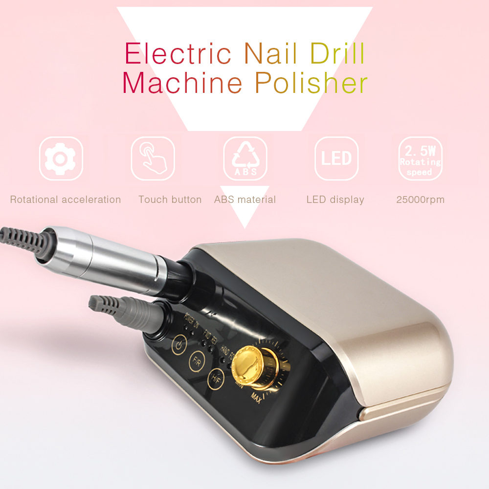30W 25000rpm Pro Electric Nail Drill Manicure Machine Set For Nail Pedicure Machine Fingernail Drill Equipment Manicure Tools30W 25000rpm Pro Electric Nail Drill Manicure Machine Set For Nail Pedicure Machine Fingernail Drill Equipment Manicure Tools