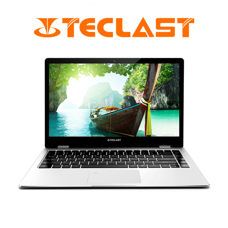 Teclast F6 Pro Portable 13.3 pouces 1920x1080 Windows 10 8 GB RAM 128 GB Intel Core m3-7Y30 Double core D'empreintes Digitales Reconnaissance