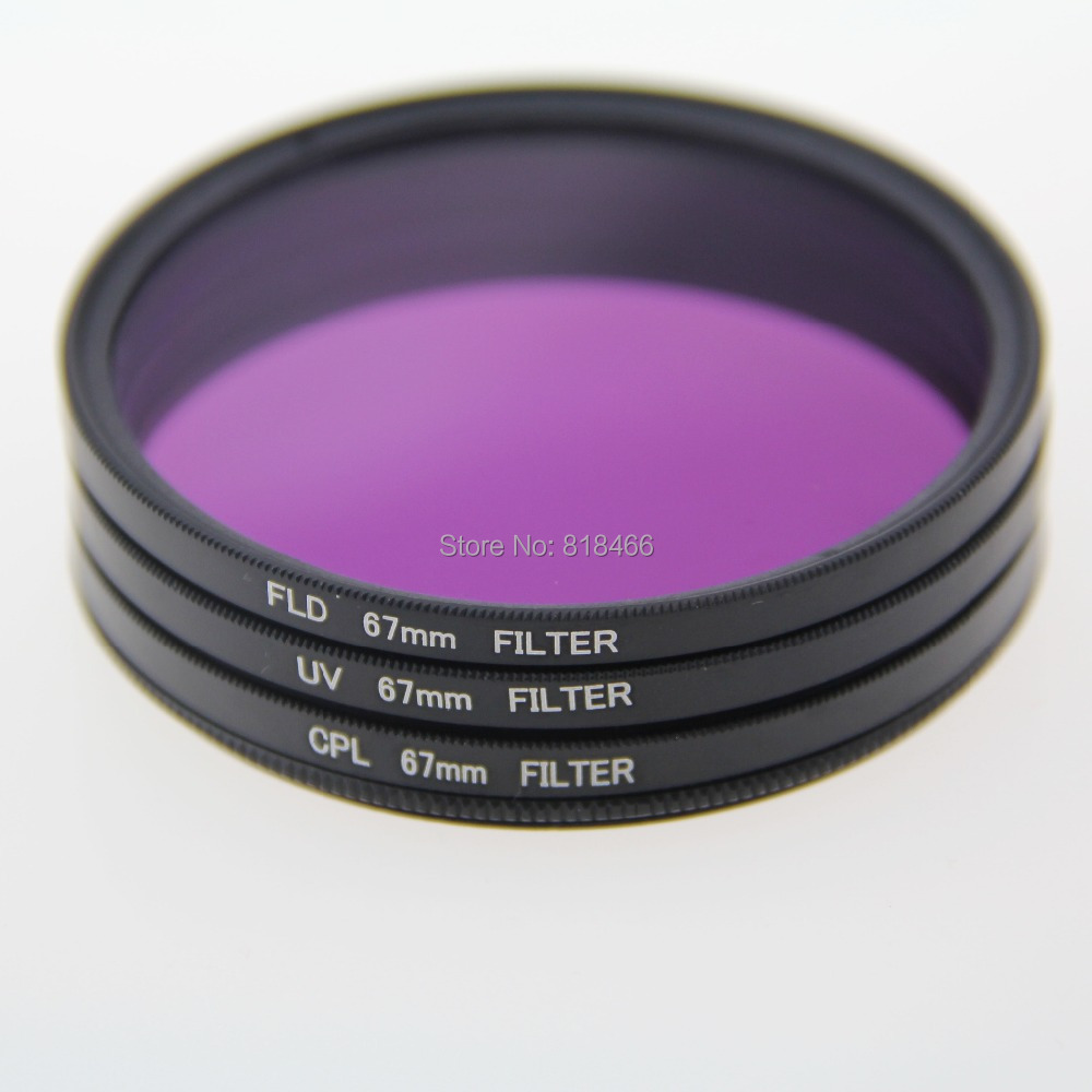 free shipping+ tracking number 1pcs 49 mm 49mm UV FLD CPL BAG  Filter Set Polfilter  for Canon EOS 650D  550D 1100D
