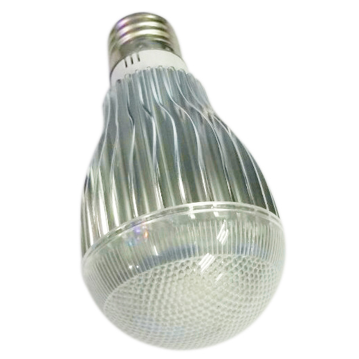 E27 8W LED Light Bulb 2 Million Color RGB Flash Light with Remote Control AC 100V-240V