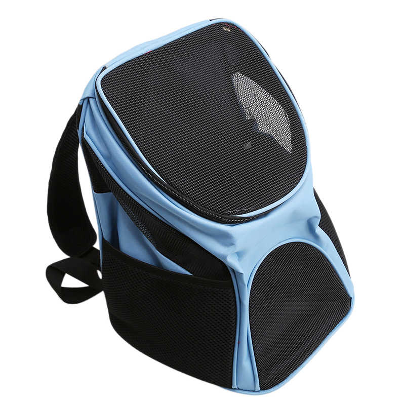Pet Dog Bag Cat Puppy Travel Backpacks Sport Travel Outdoor Pet Carrier Travel Portable Zipper Mesh Breathable Dog Bag Supplies