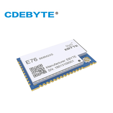 868MHz 100mW E76-868M20S EFR32 SMD Wireless Transceiver Long Distance 20dBm SOC ARM 868 MHz Transmitter Receiver rf Module cc1101 433mhz 100mw rf module 20dbm cdsenet e07 433m20s long distance smd pa transceiver 433 mhz ipex transmitter and receiver