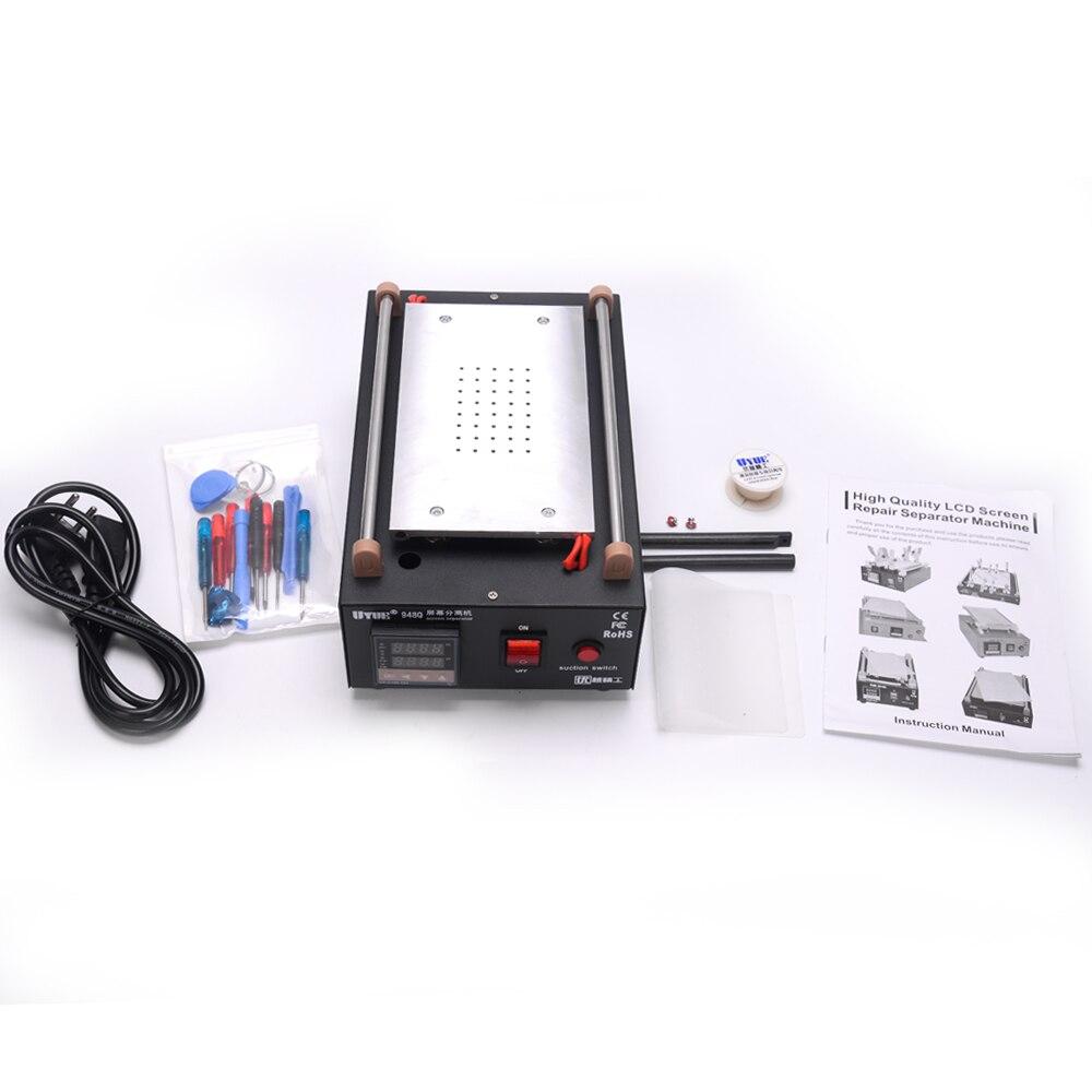 Uyue 948Q встроенный насос вакуумный Стекло ЖК-дисплей Экран сепаратор машина Макс 7 дюйм(ов) с 13 шт. мобильный телефон разбирать инструмент