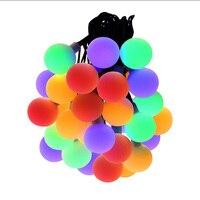 Coloré Grand Globes Balle Étanche LED Lumières de Corde Extérieure Festival/Mariage/Partie/Décorations pour La Maison de Vacances A MENÉ L'éclairage H-03