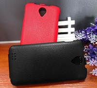 Luxury Lichee Pattern Flip Leather Case For Fly IQ4417 ERA Energy 3 Leather Cover Color Black