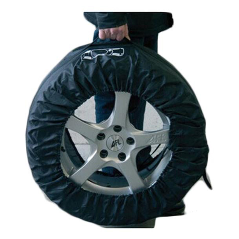 CHIZIYO 1Pc Universal Black Spare Tyre Cover Garage Tire Case Vehicle Tire Accessories Summer Winter Protector Tire Storage Bag