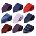 CityRaider Brand 100% Real Silk Neck Ties For Men Wedding Tie 2016 New Cravata Classic Striped Slim 8.5cm Necktie 15Colors B012