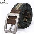 Cintos masculino 110 cm Correas de Los Hombres de Moda Casual de Lona de Los Hombres de Cuero Genuino de Moda Cinturón de Lona Para los hombres Cinturones Hombre R915