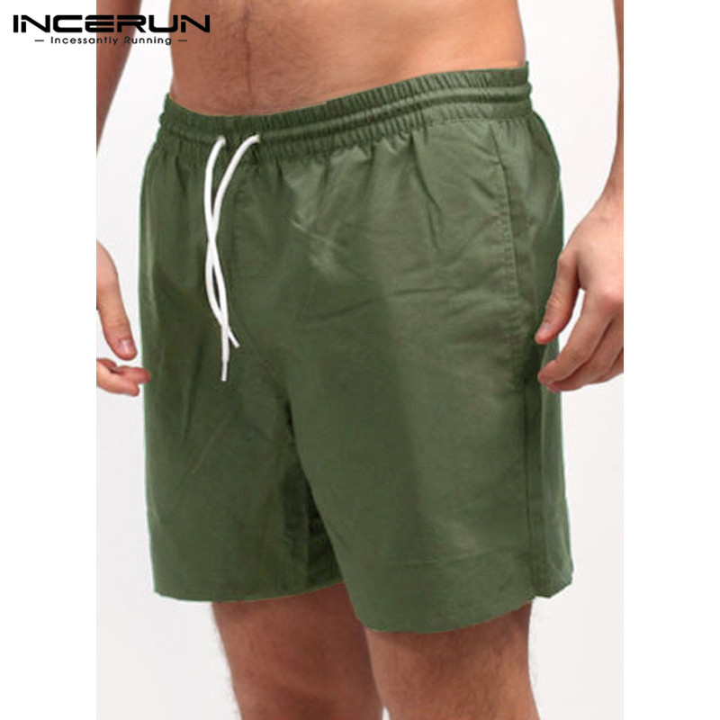 New 2018 Men Shorts Board Shorts Casual Loose Elastic Waist Bodybuilding Workout Bermuda Male Cotton Clothing Plus Size 5XL