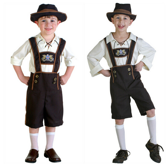 New Sale Cute Bady Beer Boy Costume Kids Cool Beer Festival Halloween Cosplay Funny Child Role Play Size S-XL