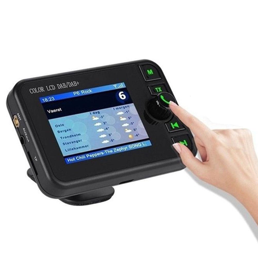 Автомобильный FM передатчик, автомобильный DAB Hand-Free адаптер для автомобильного радио MP3 плеер антенны DC 5 V Bluetooth радио