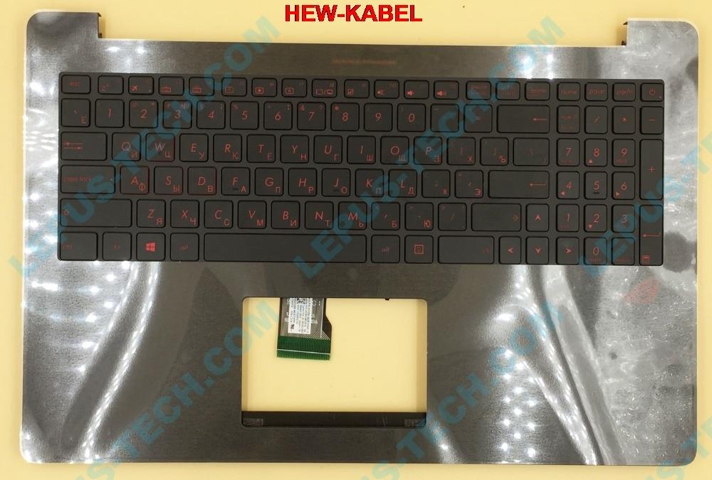 Russische RU hintergrundbeleuchtung Tastatur für ASUS ROG N501 N501JW G501 G501JW G501VW tastatur mit hintergrundbeleuchtung top case palmrest