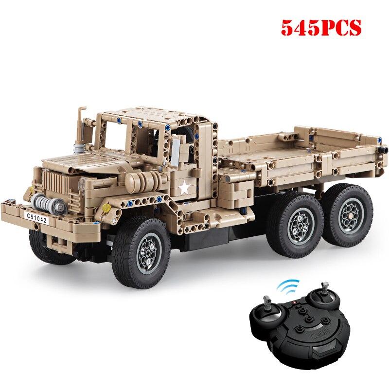 Oyuncaklar ve Hobi Ürünleri'ten Bloklar'de Askeri Teknik uzaktan kumandalı kamyon Yapı Taşları Uyumlu Legoing WW2 Ordu Silah RC Hız Araba Tuğla Oyuncaklar Çocuk Hediyeler Için'da  Grup 1