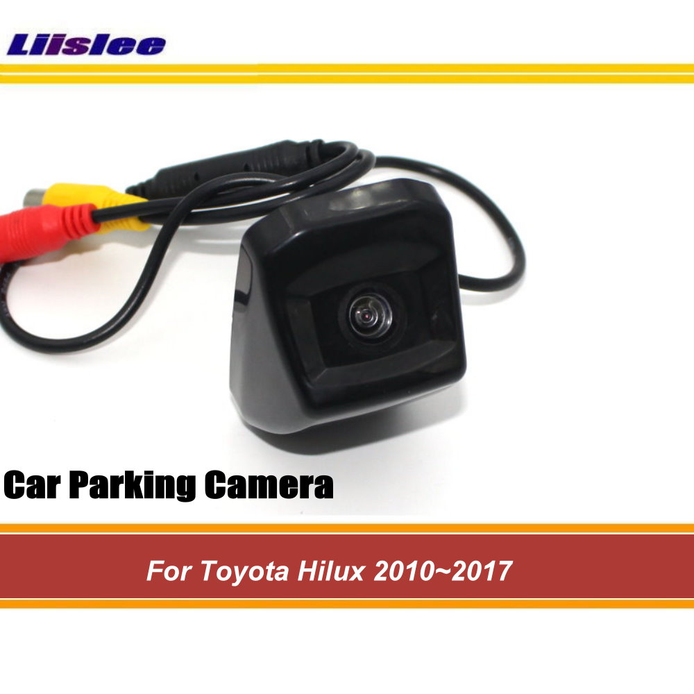 Car Rear View Camera For Toyota Hilux 2010~2014 2015 2016 2017 Reverse Parking Back Up Camera Trunk Handle HD CCD Night Vision image