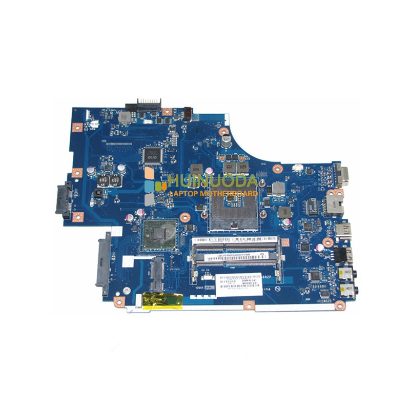 NOKOTION laptop motherboard for acer 5741 gateway nv59c HM55 GMA HD DDR3 Mainboard MBWJU02001 LA-5892P nokotion z5wae la b232p for acer aspire e5 521 laptop motherboard nbmlf11005 nb mlf11 005 ddr3