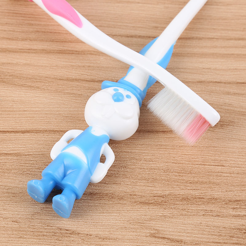 Y&W&F Kids  Soft Bristles Safely Cartoon Toothbrush Kids Cleaning The Tongue Dental Toddler Fun Oral Care Toothbrush