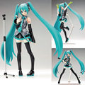 DIY sale anime figure toy figma 014 Hatsune Miku Collection 15CM gift for children  3D model kits child toys