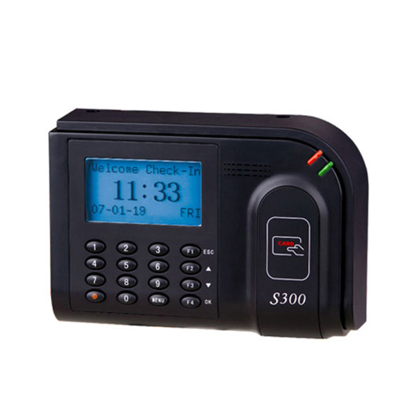 RFID Employee Time Attendance Punch rfid Card Reader Time Attendance Machine USB Communication Office Employee Work Time Clock