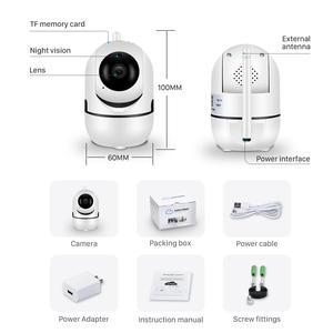 Image 5 - Bulut 1080P PTZ IP kamera otomatik izleme 2MP ev güvenlik güvenlik kamerası ağ WiFi IP kamera kablosuz kamerası YCC365 bebek izleme monitörü