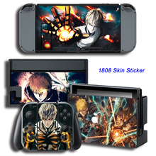 One Punch Man Skin Sticker Cover For Nintendo Switch NS Console + Controller + Dock