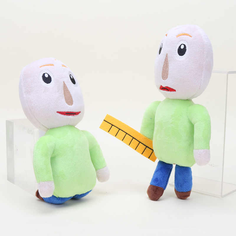 Baldi محشوة دمية Baldi في أساسيات في التعليم والتعلم اللعب أفخم دمية الشكل لعبة