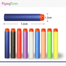 купить 50 Pcs 7.2cm EVA Toy Bullets for Nerf Retaliator Series Blasters Refill Clip Darts for Children Toy Gun Accessories Kids Gift по цене 343.24 рублей