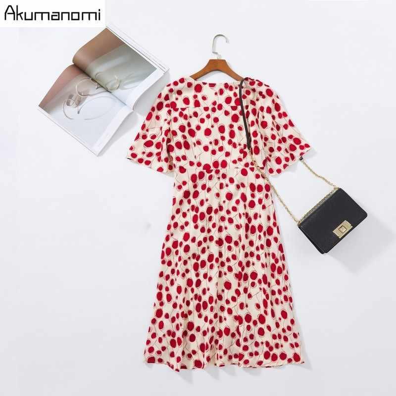 夏のドレスの女性 2019 プラスサイズ 5xl レッド O ネック半袖パーティードレス送料無料カードパック Vestidos デ Verano にローブは Longue