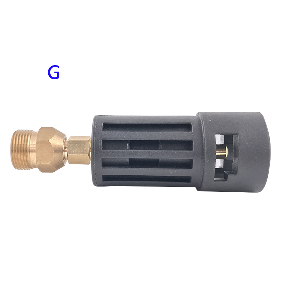 Image 5 - High Pressure Washer Connector Adapter for Connecting AR/Interskol/Lavor/Bosche/Huter/M22 Lance to Karcher Gun Female Bayonet-in Water Gun & Snow Foam Lance from Automobiles & Motorcycles