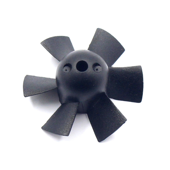 QX-Motor 6 Propellers EDF Ducted Fan Barrel Without Motor 30mm For RC Airplane Accessory image