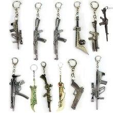 Riot Anime Crossfire cross fire weapon gun model Keychain weapons counter strike global offensive csgo cs go ak 47 Keyring