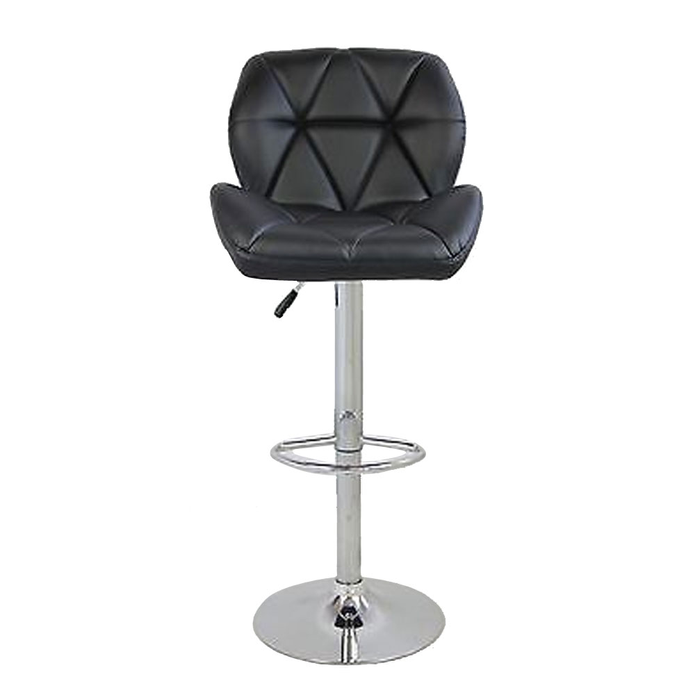 Aliexpress Com Buy Metal Bar Stool 2pcs Faux Leather