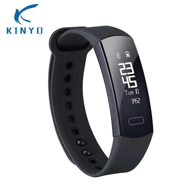 Kinyo Smart Bracelet Kyt-003 Blood Pressure Tracker Fitness Monitor Sports Wristband Incoming Call Alert Smart Band Pk Mi Band 3 Smart Electronics