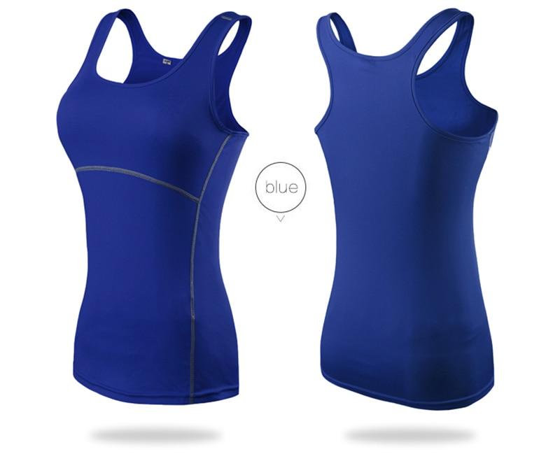 Women's Yoga Tops Sexy Gym Sportswear 17