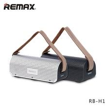 REMAX RB-H1 столе bluetooth-динамик Портативный Беспроводной динамик 3D стерео бас в окружении звук NFC Micro SD Мощность банк стерео