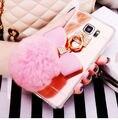 Luxo Bling Diamante Caso Espelho de Cristal Bowknot Coelho Bonito Pele Bola Fofo para iphone 7 7 plus 6 6 s 6 mais 6 splus 5 5S 5c se
