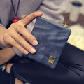 Casual Solid Dull Polish Short Wallet Zipper Hasp Women Small Coin Purse New Fashion Multifunctional Handbag Retro Note case
