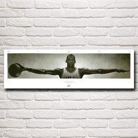 Wings Of Basketball Star Michael Jordan 23 Silk Wall Poster Printing Room Decoration 12x40 18x60 24x80