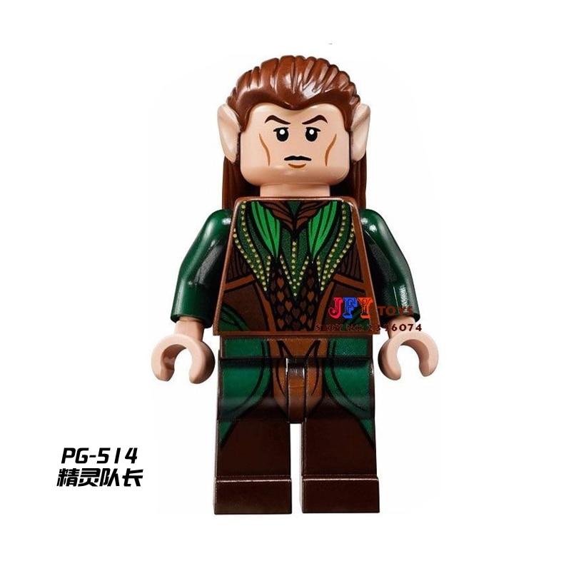 Single Sale star wars superhero The Hobbit Mirkwood Elf LOTR building blocks model bricks toys for children brinquedos menino