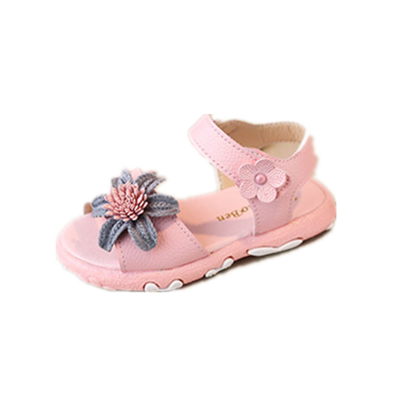 Summer Sandals Toddler Little Girls Flower Sandal Princess Casual Beach Shoes