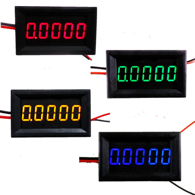 High Precision Digital Ammeter DC A Digit Current - Car sign with namesonline get cheap d led sign aliexpresscom alibaba group
