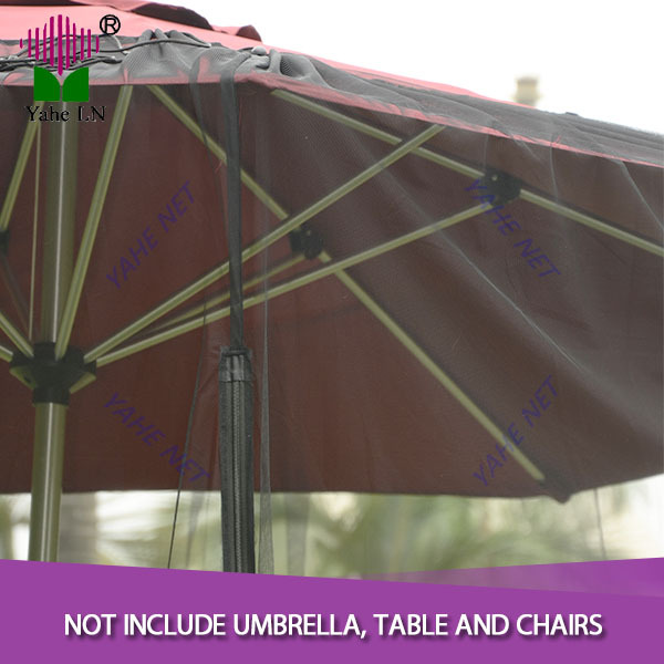 9 Foot Black Patio Umbrella Mosquito Netting In Mosquito Net From