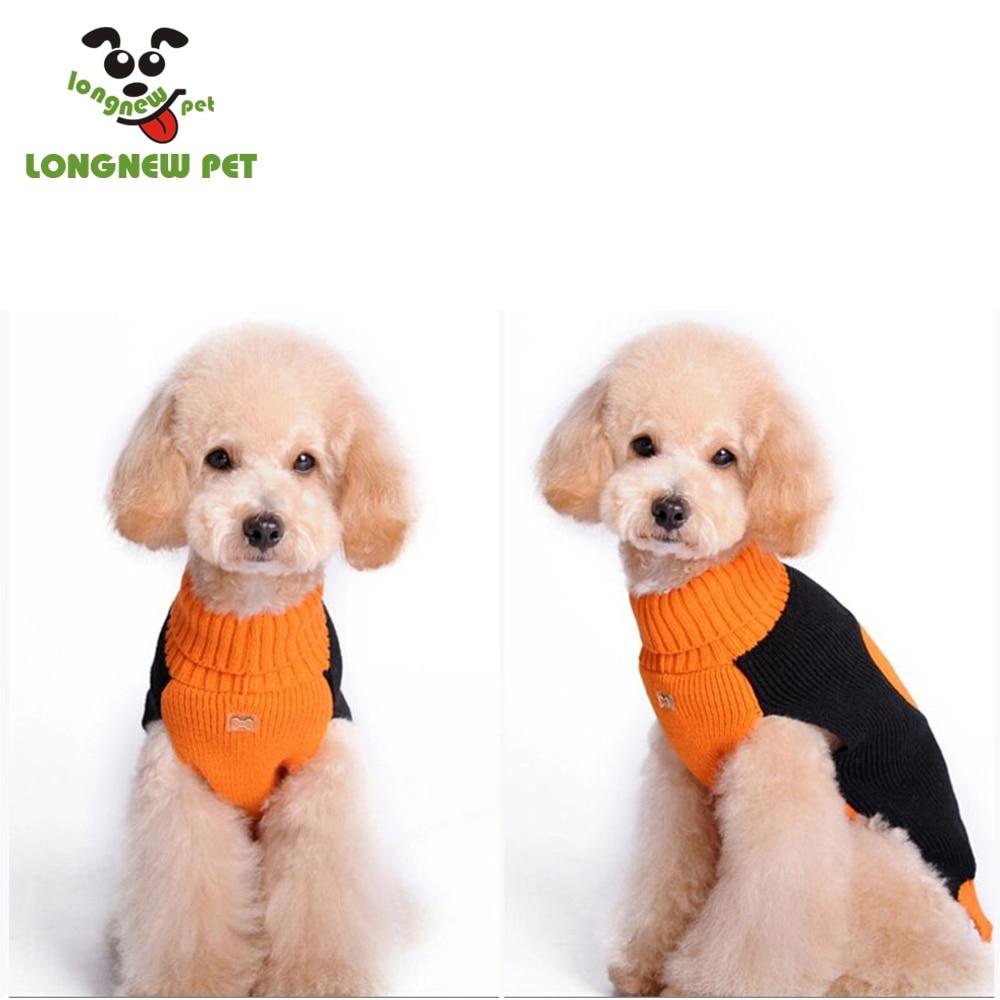 Calabaza De Halloween Patrón de punto Suéter Del Perro de Perrito ...