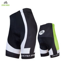 ZEROBIKE 2017 Summer Men's Cycling Shorts 4D GEL Padded Quick Dry Breathable Tight Bicycle Clothing ciclismo M-XXL(China)