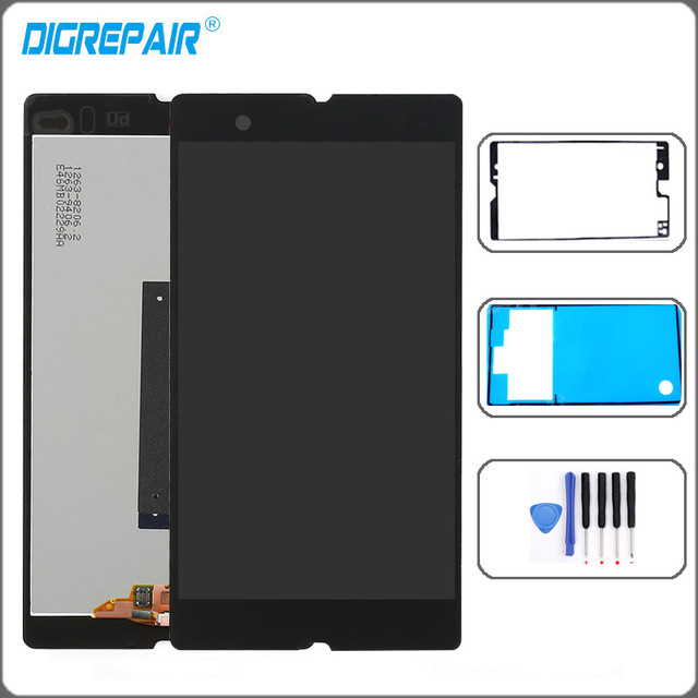 """c6603 lcd 5.0"""" For Sony Xperia Z L36h L36i C6606 C6603 C6602 C660x c6601 LCD Display Touch Screen Digitizer Assembly Parts glue"""