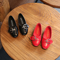 Girl Leather Shoes Soft Dress Spring Autumn Children Fashion Shoes Black/Pink School Designer Shoes for Kids