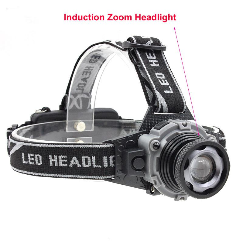 Touchfire 3800LM T6 LED head torch light rechargeable lantern fishing lamp flashlight headlamp headlight lampe frontale powerful ...
