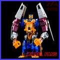 Fãs modelo in-stock 4 mudanças beast wars deformação robô o chimpanzé capitão bw optimus prime action figure toy